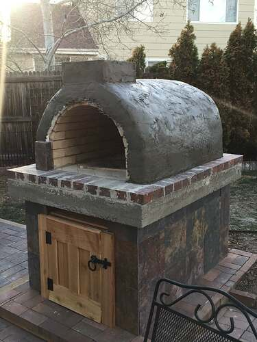 Homemade Outdoor Pizza Oven (35)