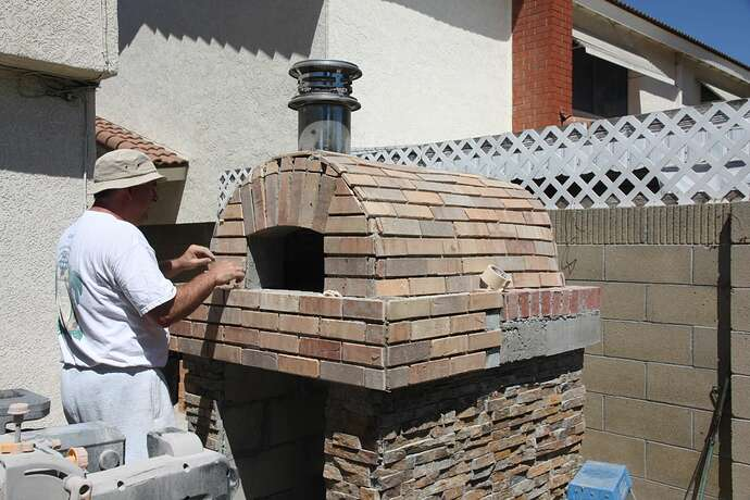 Outdoor Grill With Oven (31)