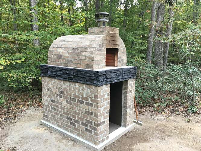 Wood Fired Brick Oven (110)