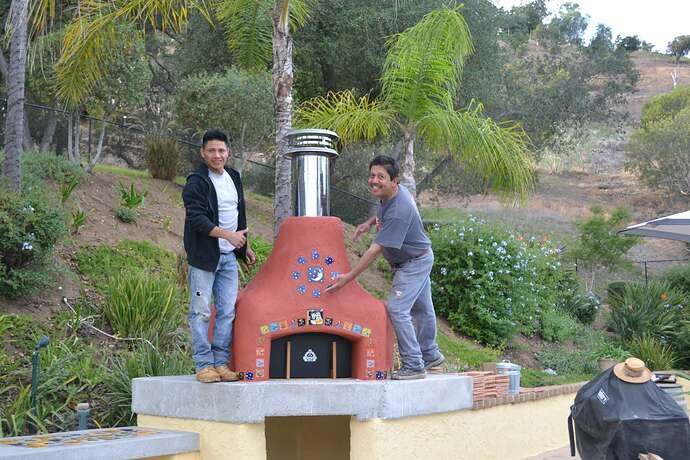 Wood Fire Pizza Oven (76)