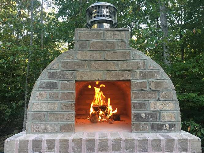 Wood Fired Brick Oven (108)