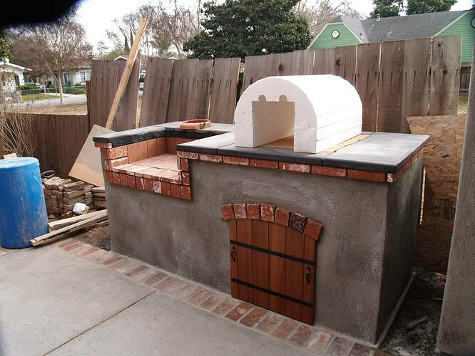 How To Build a Brick BBQ and Pizza Oven (7)