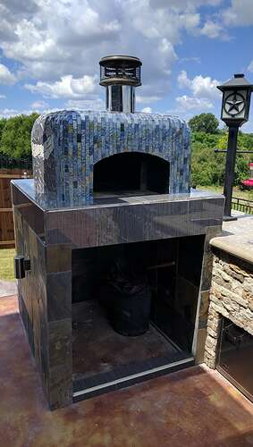 How To Make A Pizza Oven (54)