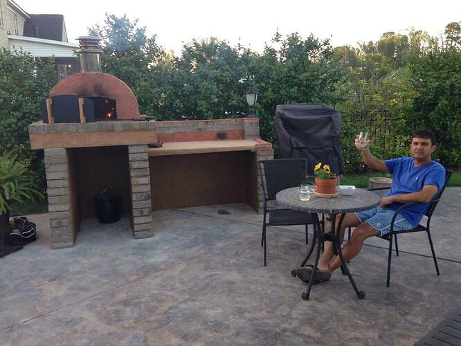 Build A BBQ And Pizza Oven (25)