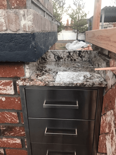 Pizza Oven Fireplace Combo (11)