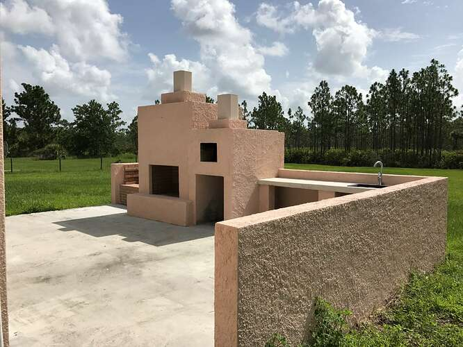Mexican Fireplace