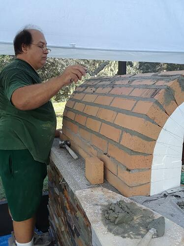 Building A Pizza Oven (104)