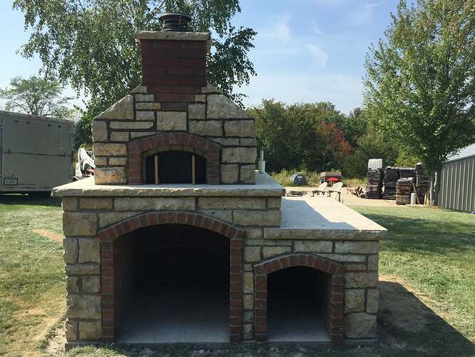 Build Your Own Outdoor Pizza Oven (39)