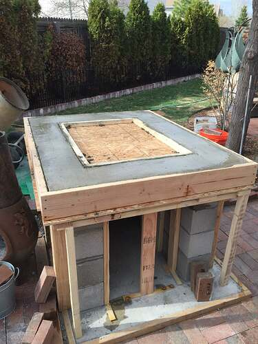 Homemade Outdoor Pizza Oven (18)