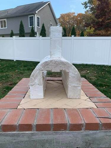 Homemade Wood Fired Pizza Oven (3)