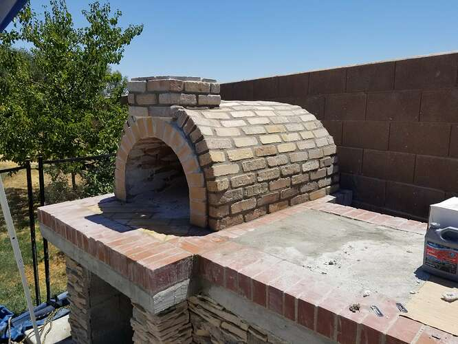 How to Build an Outdoor Pizza Oven Step by Step (19)