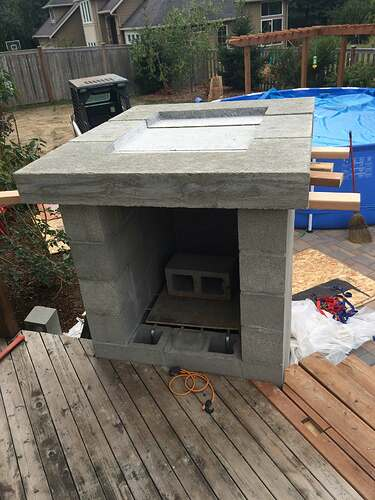 Home Made Pizza Oven (13)