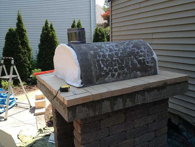 How To Build An Outdoor Brick Oven (67)