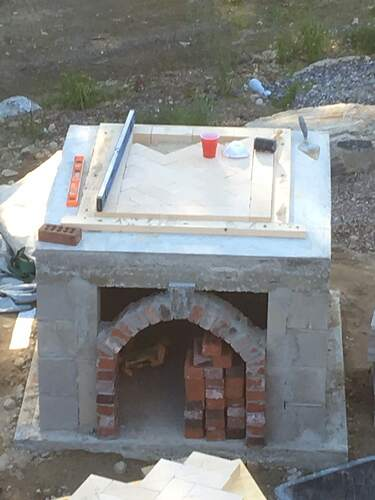 How To Build A Wood Fired Pizza Oven (36)