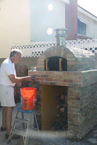 Outdoor Grill With Oven (34)