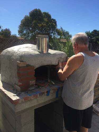 How To Make Wood Fired Oven At Home (36)