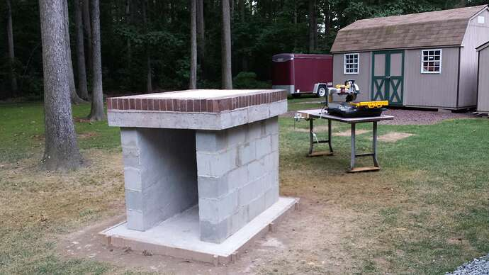 How To Make An Outdoor Pizza Oven (13)
