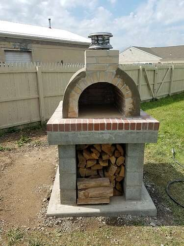 Making An Outdoor Oven (24)
