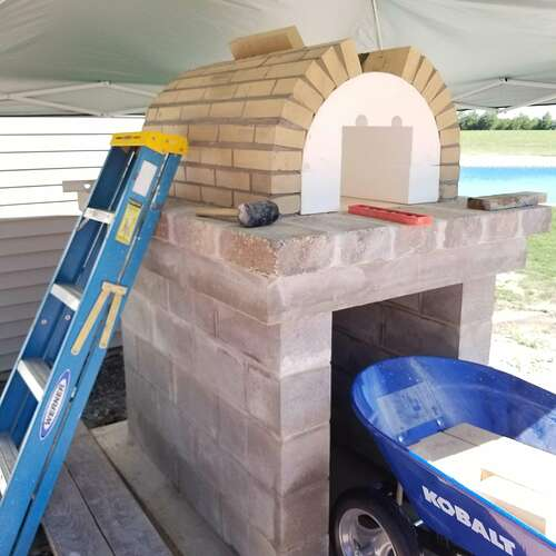 How To Make A Brick Oven (2)