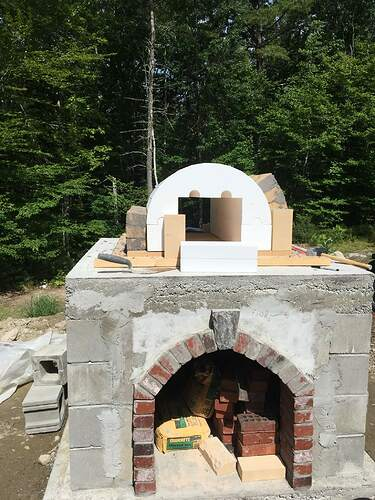 How To Build A Wood Fired Pizza Oven (41)