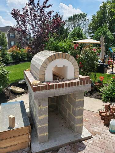 Home Wood Fired Pizza Oven (12)
