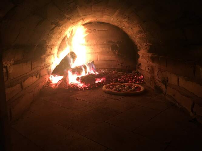 Wood Fired Brick Oven (120)
