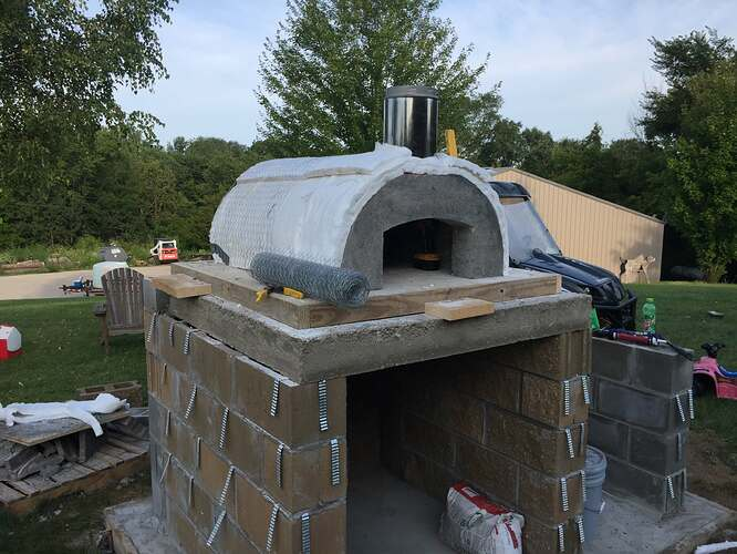 Build Your Own Outdoor Pizza Oven (21)