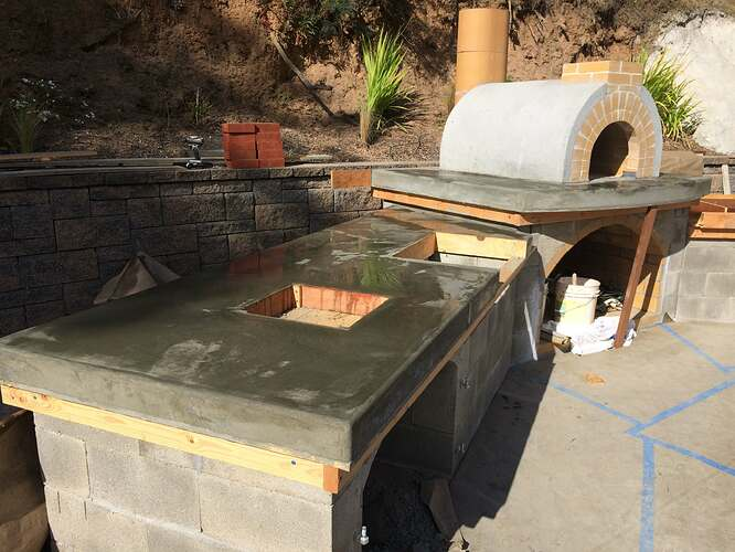 Pizza Oven Over Fireplace (16)
