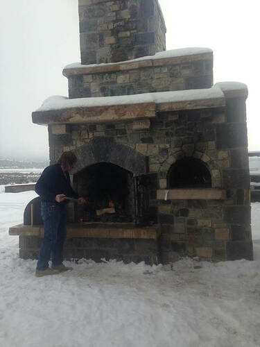 Fireplace Pizza Oven Combo (2)