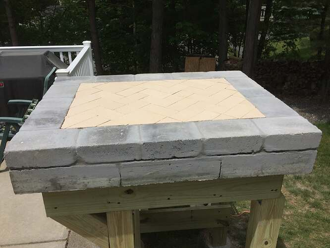 Building a Wood Fired Pizza Oven (12)