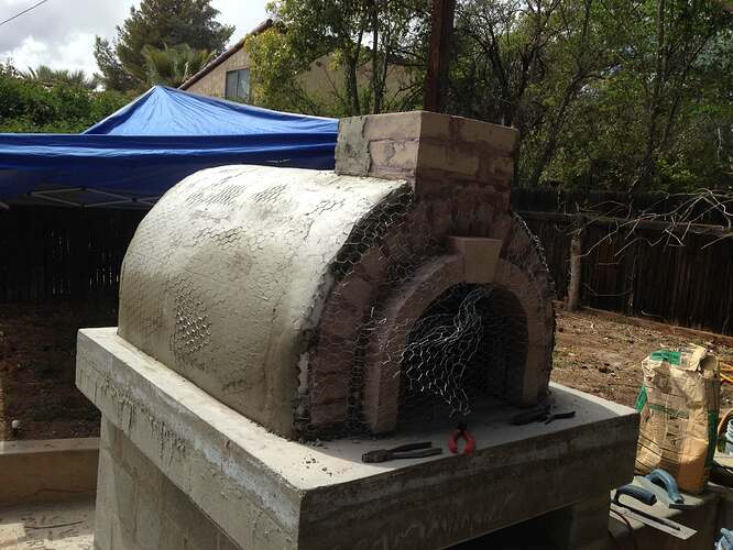 Italian Wood Fired Pizza Oven (6)