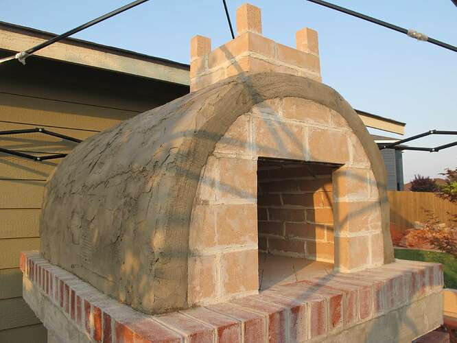 How To Pizza Oven Build (20)