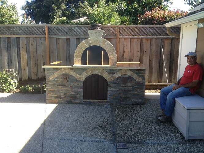 Outdoor Gas Pizza Oven (52)