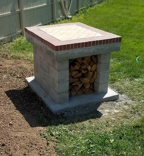 Making An Outdoor Oven (14)