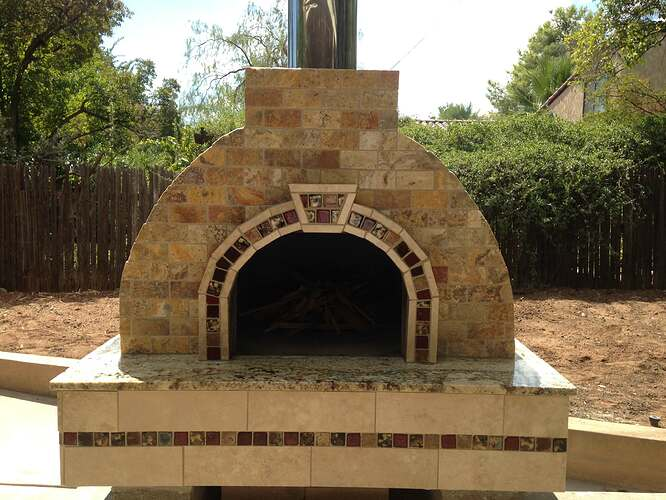 Italian Wood Fired Pizza Oven