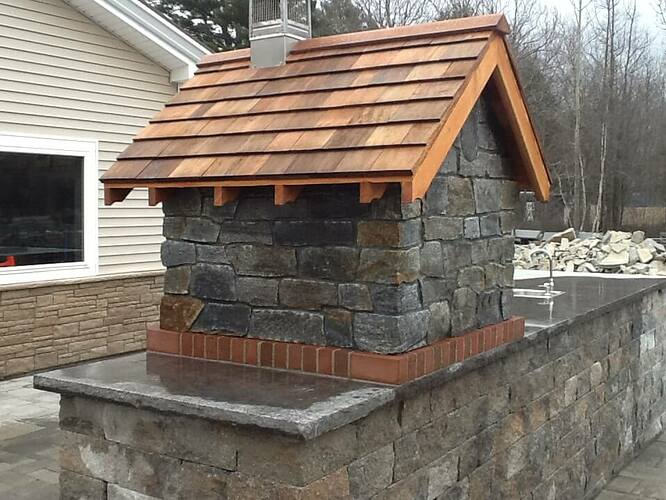 Pizza Oven Gable Roof (3)