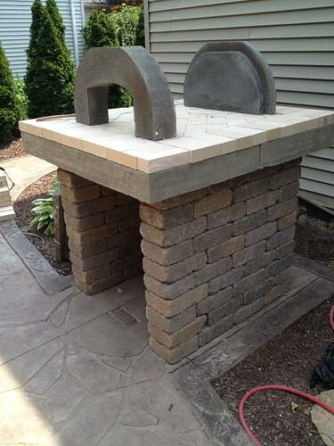 How To Build An Outdoor Brick Oven (61)