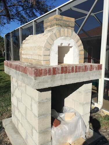 Building An Outdoor Oven (9)