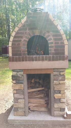 How To Make An Outdoor Pizza Oven (77)