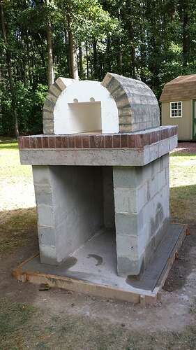 How To Make An Outdoor Pizza Oven (22)