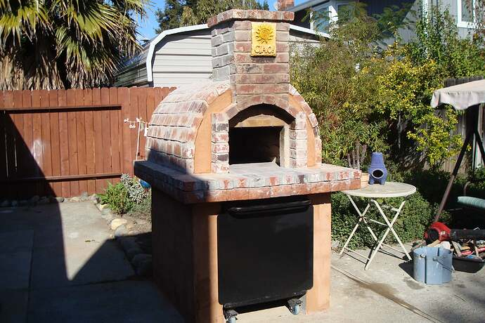 How To Make A Backyard Brick Pizza Oven (2)