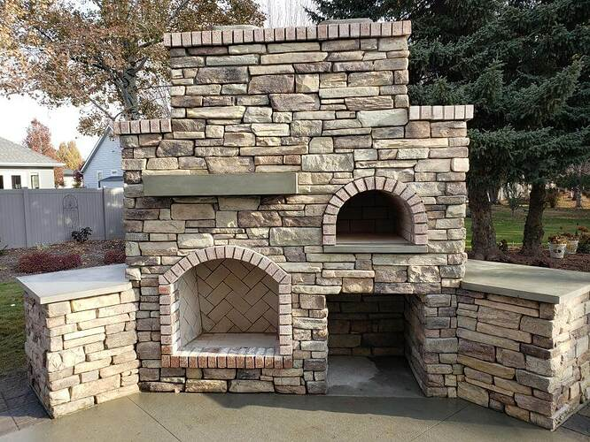 How To Build An Outdoor Fireplace (6)
