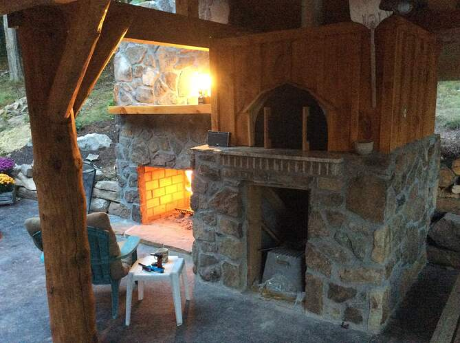 Outdoor Fireplace and Seating (36)