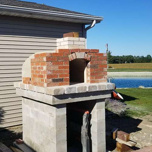 How To Make A Brick Oven (8)