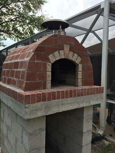 Building An Outdoor Oven (16)