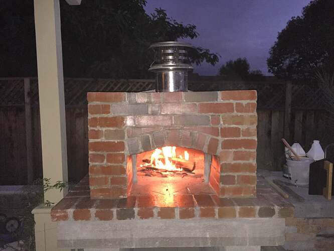 How To Make Wood Fired Oven At Home (44)