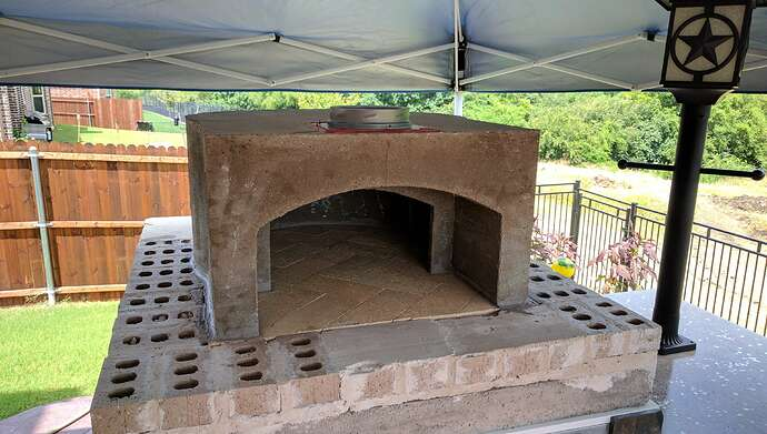 How To Make A Pizza Oven (31)