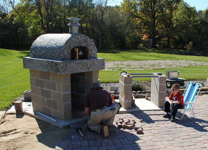 Outdoor Wood Fired Pizza Oven (46)