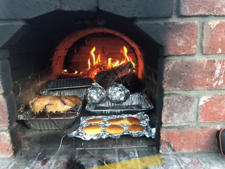 Pizza Oven Fireplace Combo (6)