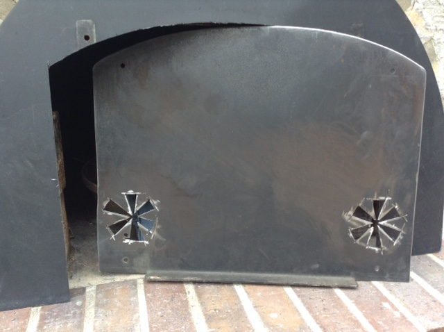 89) Cut to fit inside oven portal